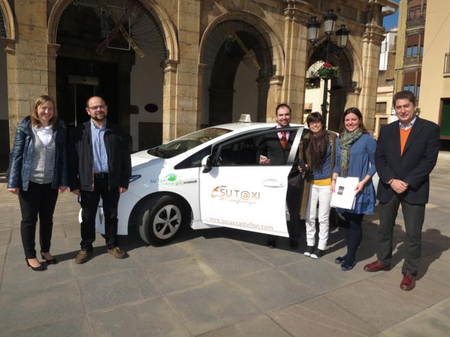 La empresa Su Taxi presentó su plan de sostenibilidad al Ayuntamiento...
