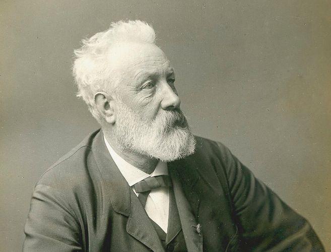 Retrato de Julio Verne.