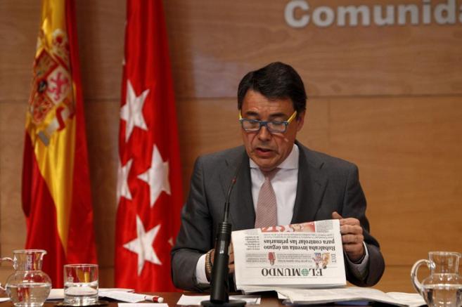 Ignacio González contesta a las noticias publicadas por El Mundo...