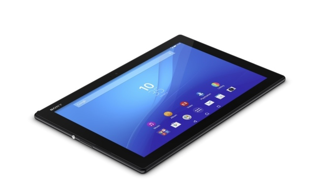 La tableta Xperia Z4 Tablet