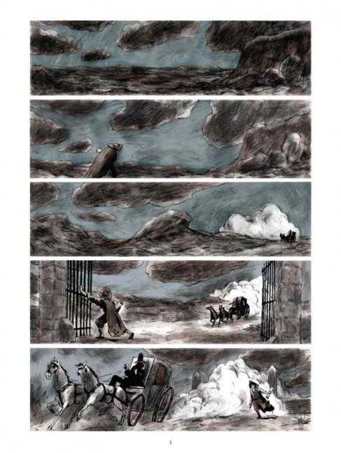 Una de las páginas de 'Goya', ilustrado por Benjamin...