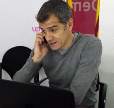 Toni Cantó, uno de los políticos que ha puesto su WhatsApp a...
