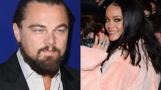 DiCaprio y Rihanna, en una imagen reciente.