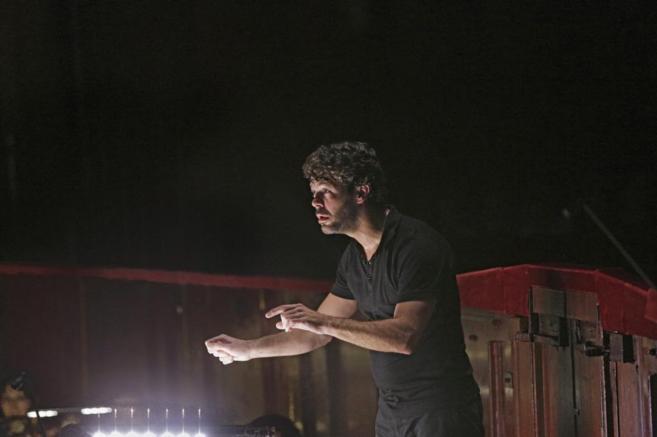 Pablo Heras Casado, durante un ensayo.