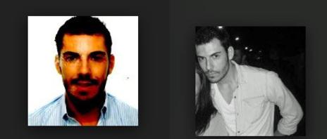 Fotos procedentes de redes sociales en las que tenía perfil Mario García Montealegre
