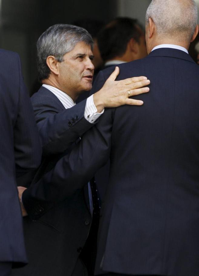 El presidente de Martinsa Fadesa, Fernando Martín.