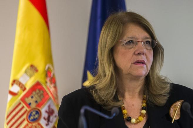 La presidenta de la Comisión Nacional del Mercado de Valores (CNMV),...