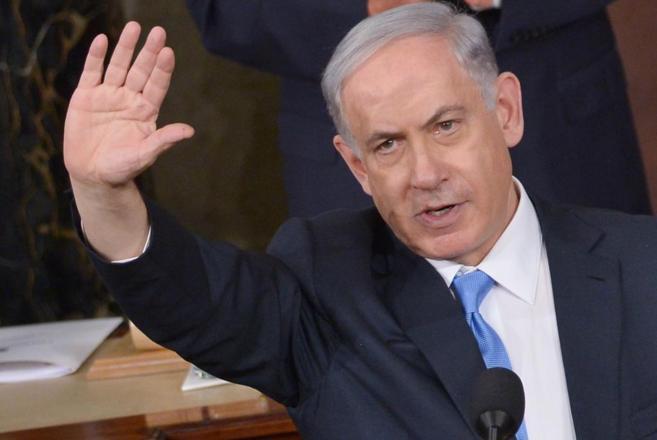 El primer ministro israelí y candidato del Likud, Benjamín...