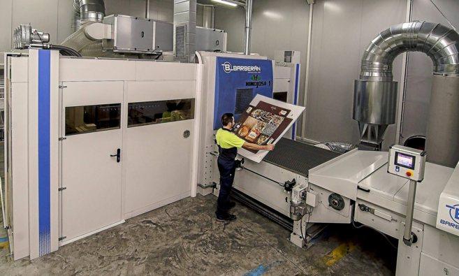 La innovadora impresora digital de Grupo Hinojosa.