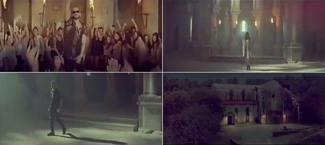 Algunas de las escenas de la polémica.