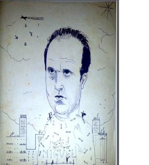 Caricatura de Rafael Inglada.