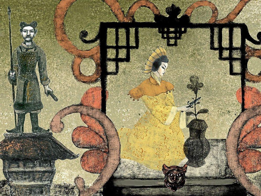 Una de las ilustraciones de Pablo Auladell para el aria 'Nessun...