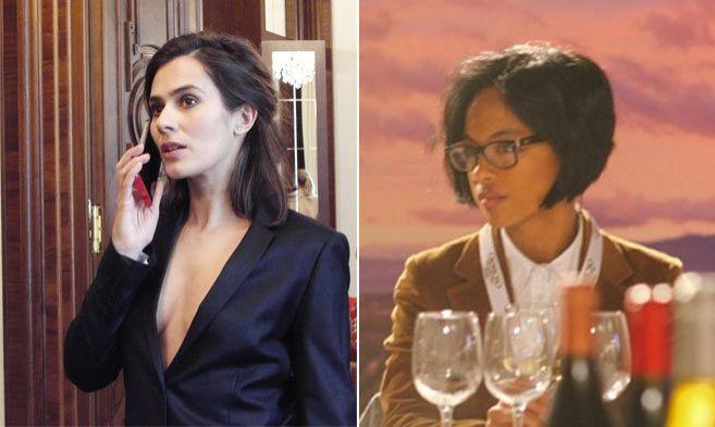 Anna Allen  (izqda) y Mar Rodríguez su representante  (dcha)