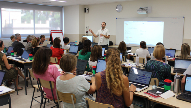 1359b8e47 Fundado en 1962, ofrece un programa educativo americano desde el parvulario  hasta décimo curso (4º de la ESO) y en Bachillerato facilita la posibilidad  de ...