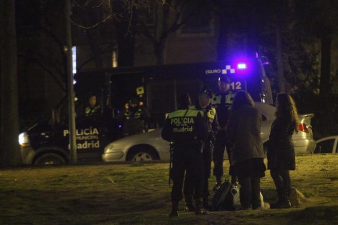 Vigilancia policial en Ciudad Universitaria para evitar el...