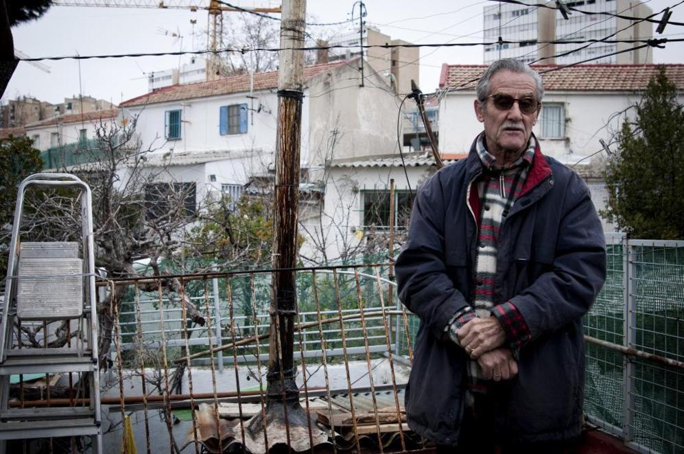 Jesús, de 81 años, uno de los últimos vecinos del Poblado de...