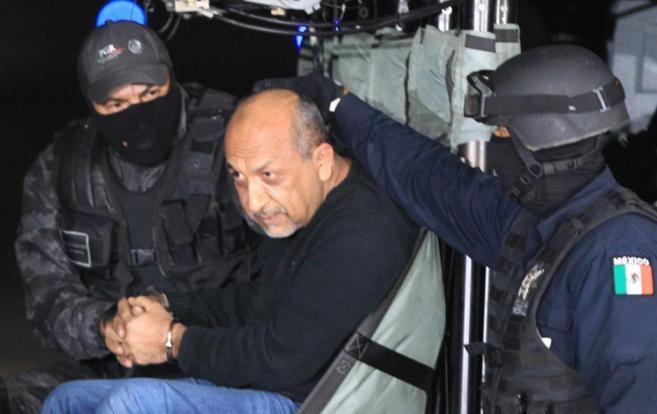 El líder narco 'La Tuta', detenido la semana pasada.