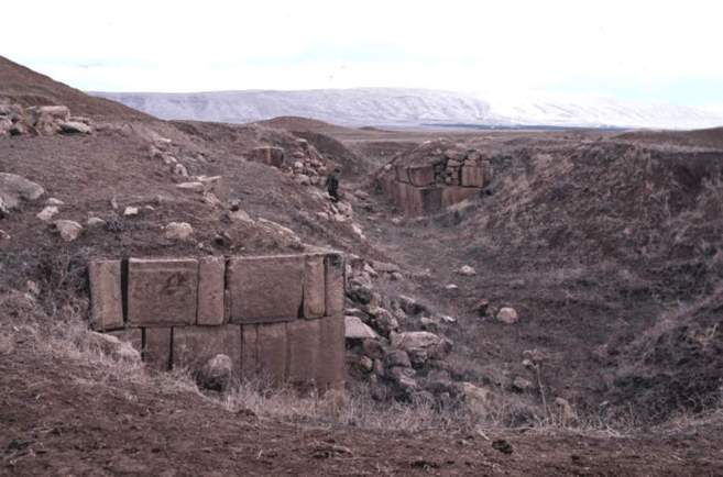 Ruinas de la ciudad iraquí de Dur Sharrukin, destruida por el Estado...