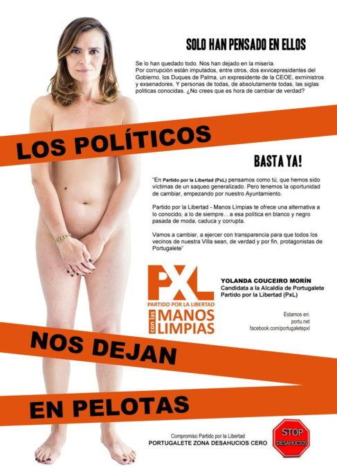 Yolanda Couceiro Morin, en el cartel.