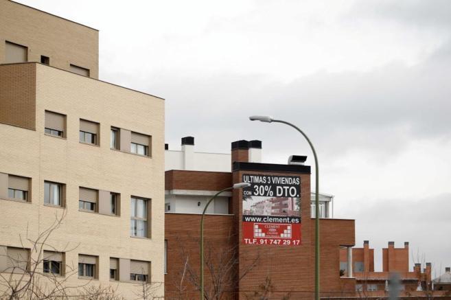 Promoción de nuevos pisos a los que se les aplicaba descuentos a...
