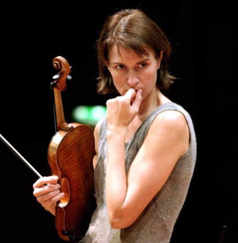 La violinista rusa Viktoria Mullova.