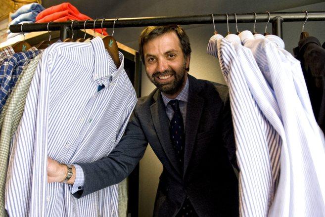 Ramón Barguñó, socio de La fabrica de camisas.