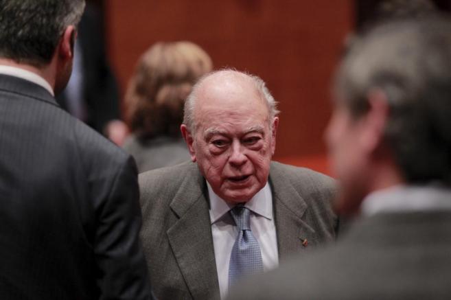 Jordi Pujol en la Comision de investigación