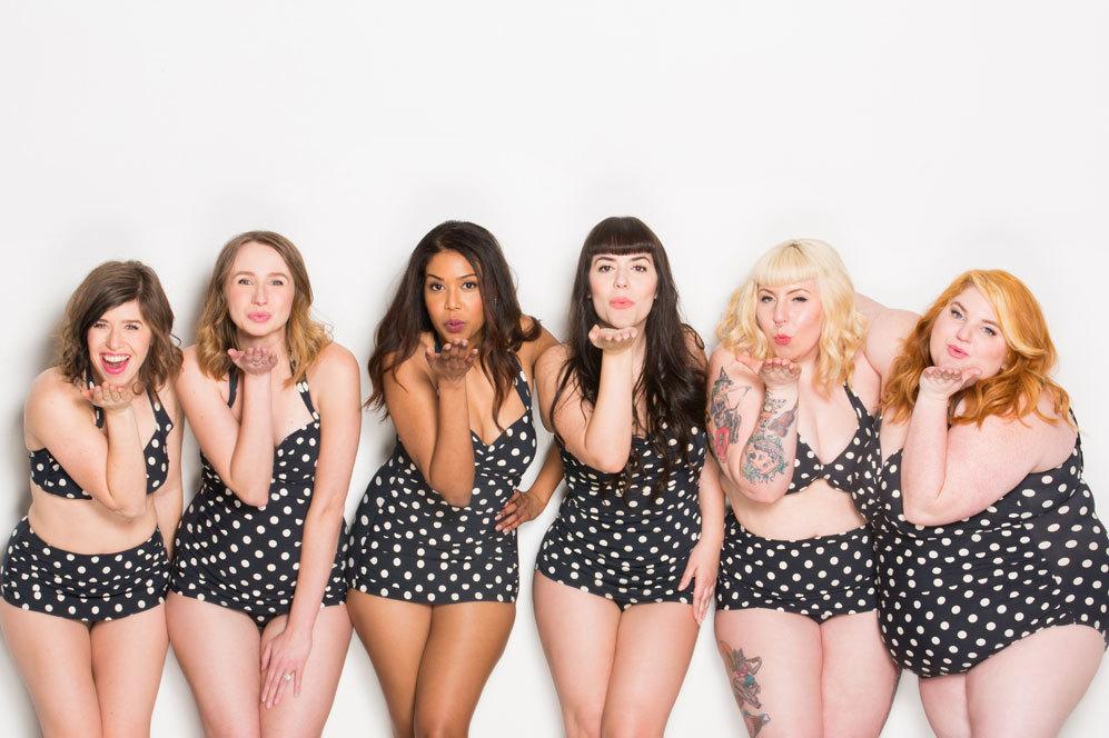 Las campañas de ropa de baño en la que las mujeres aparecen...