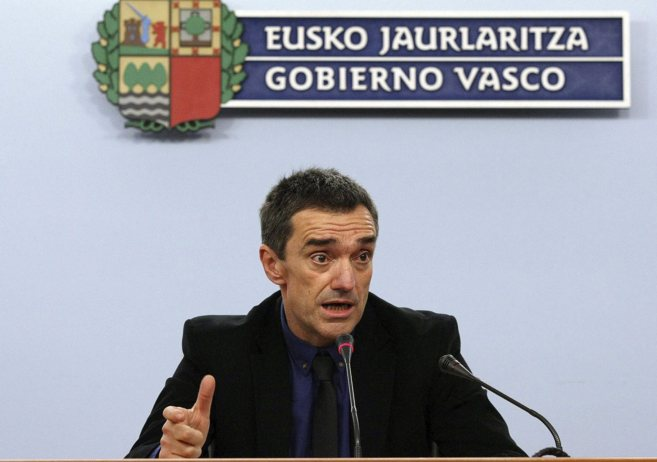 El secretario general de Paz y Convivencia del Gobierno Vasco, Jonan...