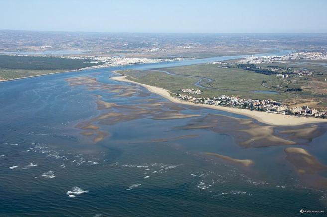 Isla Canela, Huelva, donde se tomarán medidas de estabilización.