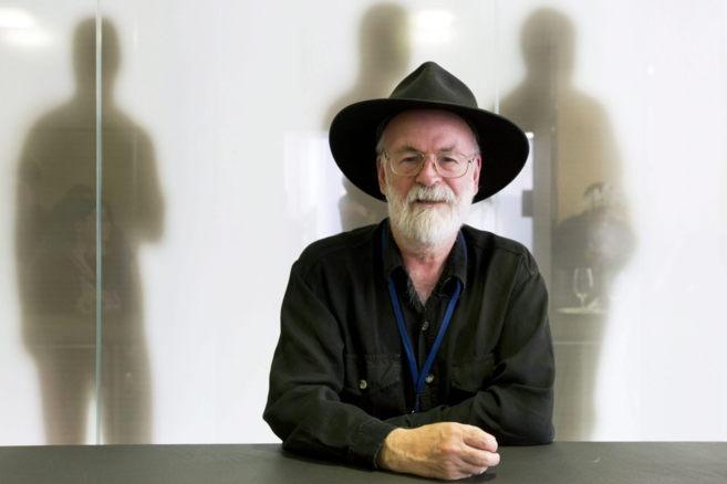 El escritor Terry Pratchett, durante un encuentro en Zúrich en EFE.