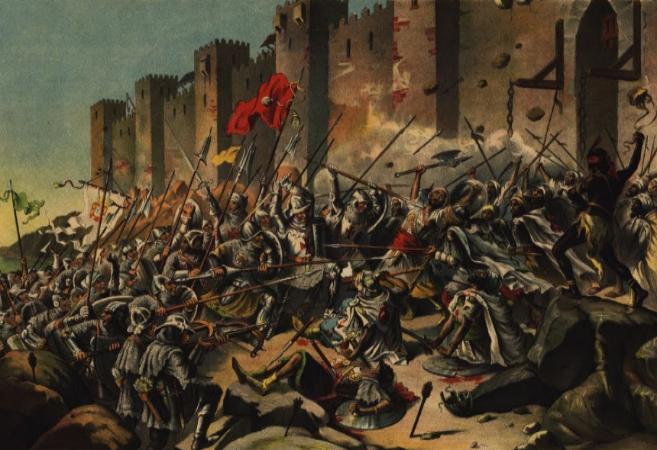 Conquista de Ceuta por los portugueses.
