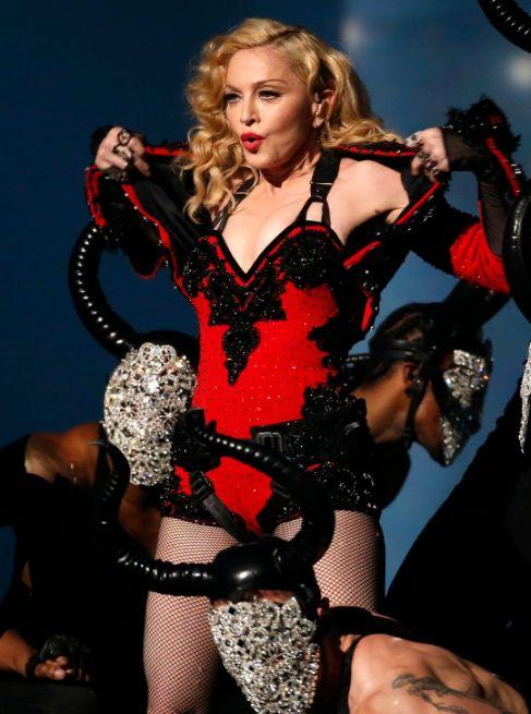 La cantante, en los premios Grammy.