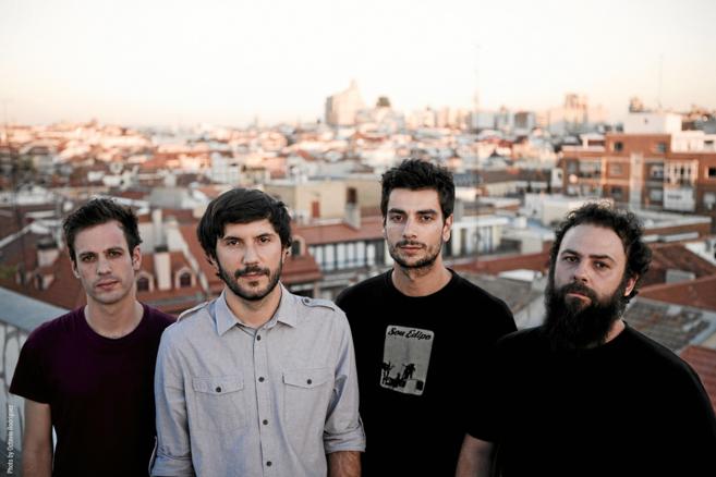 El cuarteto de rock instrumental Toundra.