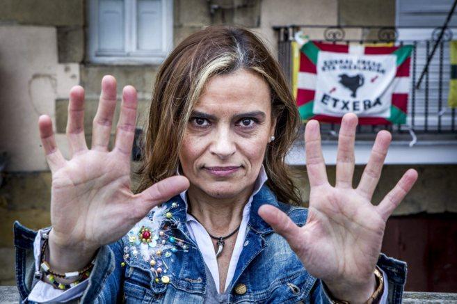 Yolanda Couceiro posa en Portugalete durante la entrevista.