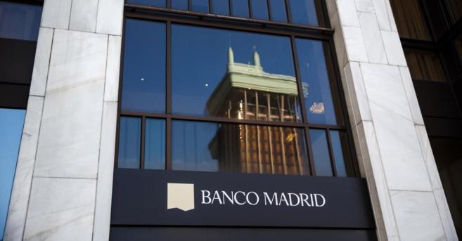 Sede del Banco Madrid en la capital española.