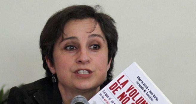 La periodista Carmen Aristegui, en una imagen de archivo.