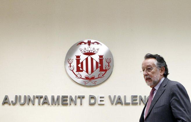 El vicealcalde de Valencia, Alfonso Grau, en una comparecencia.
