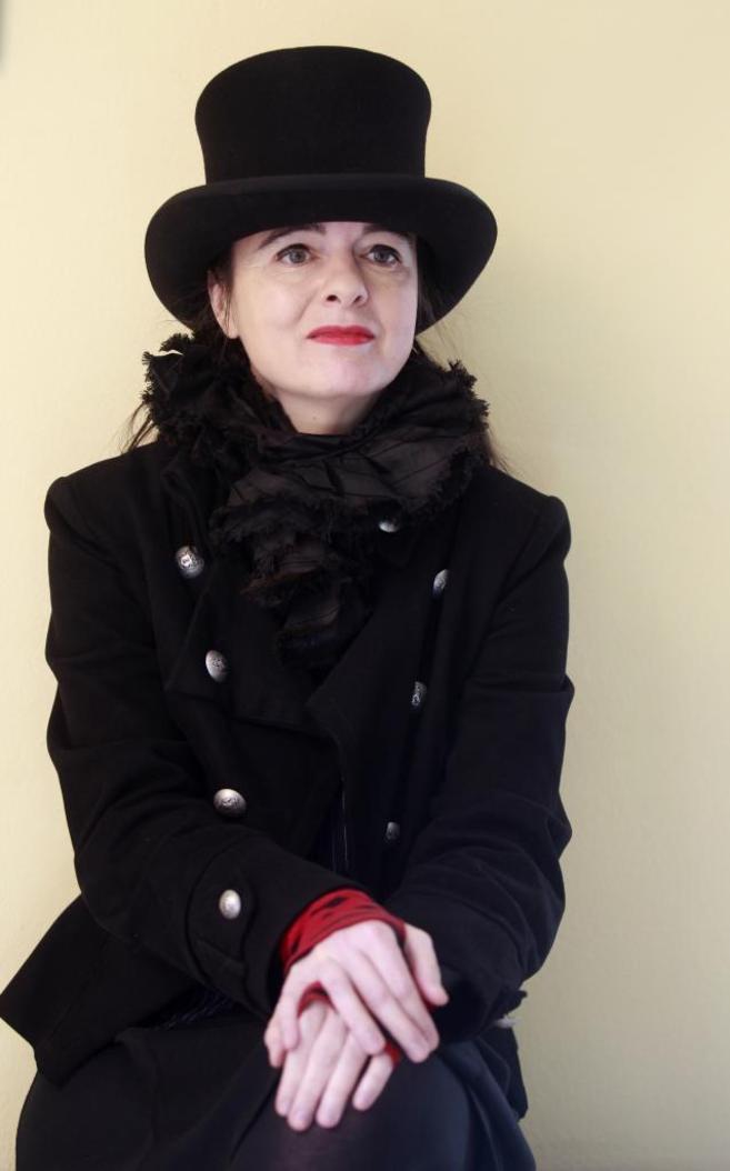 Amélie Nothomb, en Barcelona el pasado marzo de 2012