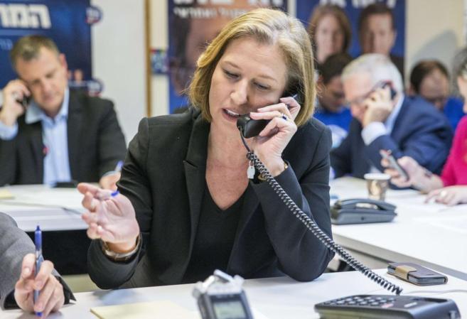 Tzipi Livni, colíder de la Unión Sionista, favorita para ganar las...