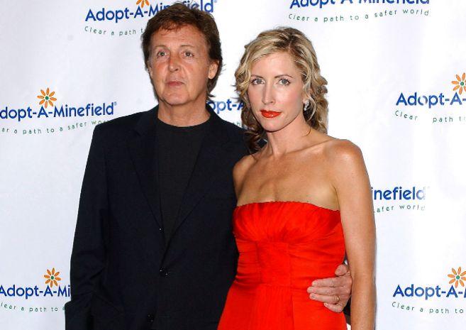 Resultado de imagen para Paul McCartney y Heather Mills