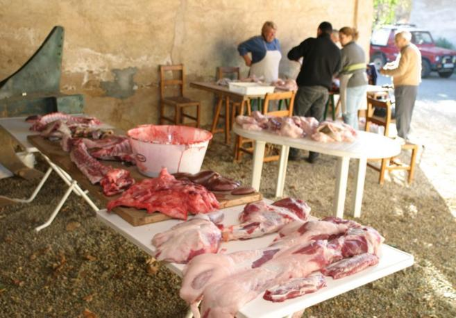 El consumo de cerdo infectado es una de las principales vías de...