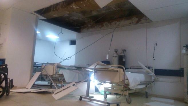 Unidad de Preingreso del Hospital Virgen de la Salud de Toledo, tras...