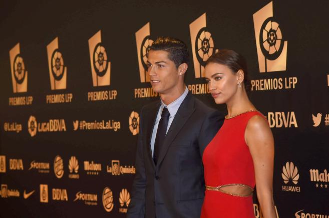 Cristiano e Irina, en su último acto público juntos.