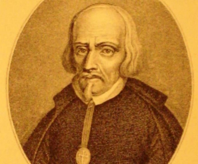 El escritor, Pedro Calderón de la Barca.