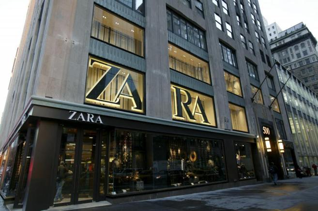 Fachada de la tienda de Zara en la Quinta Avenida, Nueva York.