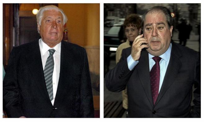 Fotografías de archivo de los ex altos cargos de la Generalitat Lluis...