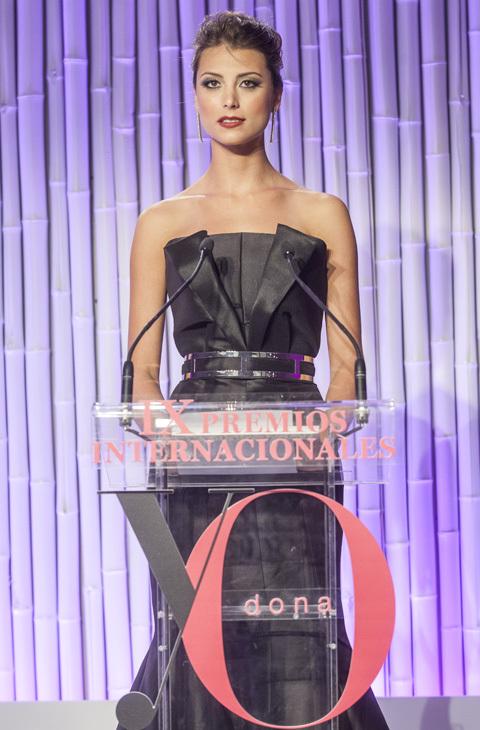 Stefanía Fernández durante la entrega de los Premios Internacionales...