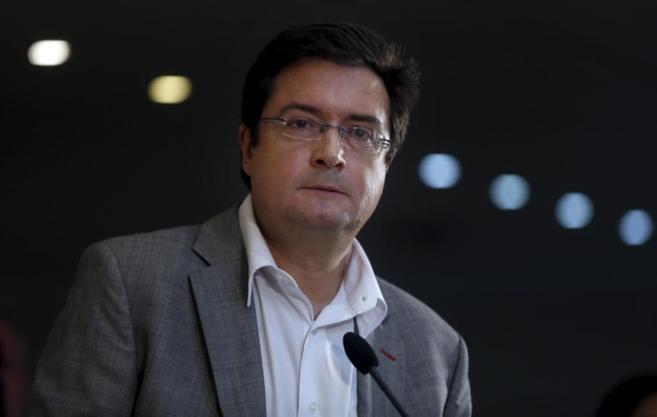 Óscar López, ex secretario general del PSOE . JAVIER BARBANCHO