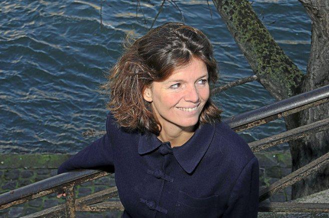La escritora francesa Maylis de Kerangal.